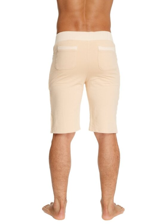 Men's Urban Dress Yoga Shorts (Sand Beige)