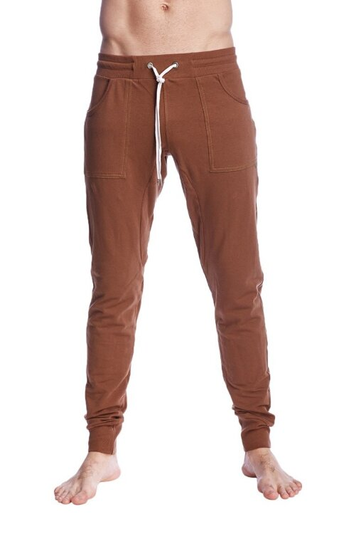 Long Cuffed Perfection Yoga Pants (Chocolate Brown)_2.jpeg