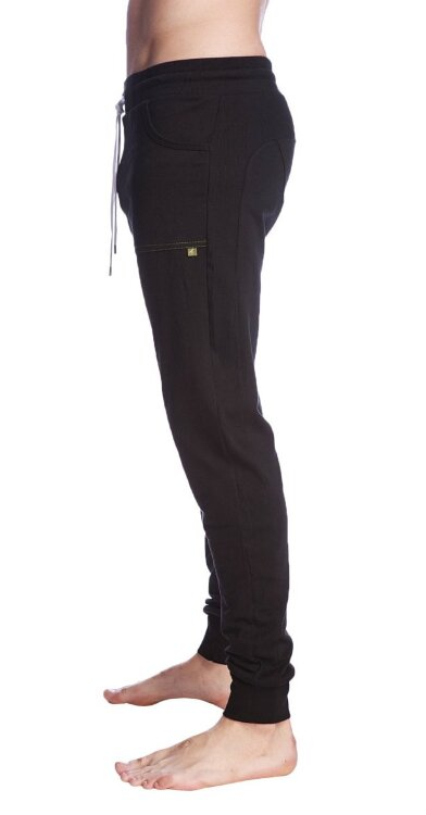 Long Cuffed Perfection Yoga Pants (Black)_2.jpeg
