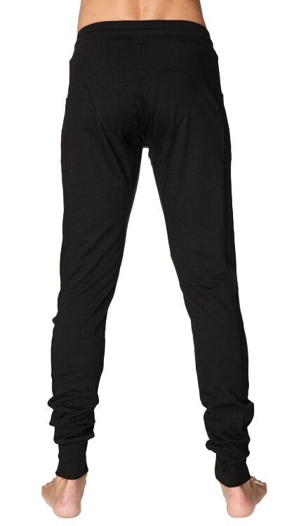 Long Cuffed Jogger Yoga Pants (Black).jpg