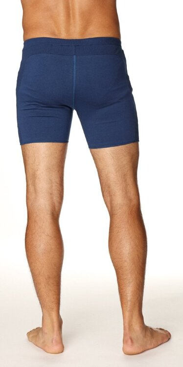 Men's Transition Yoga Shorts (Royal Blue)