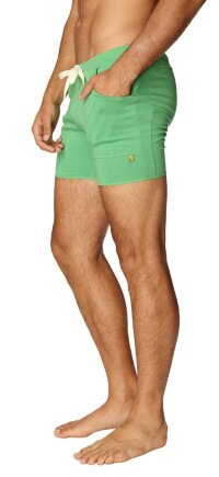 Transition Yoga Short (Bamboo Green)