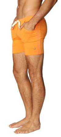 Transition Yoga Short (Sun Orange)