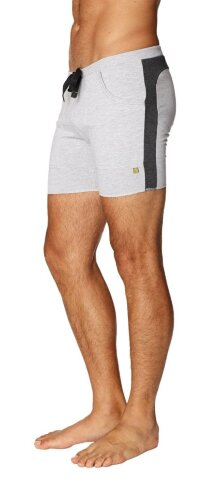 Transition Yoga Short (Grey w/Charcoal)