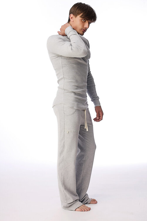 Track Mens  Pants for Fitness  (Solid Heather Grey).jpg
