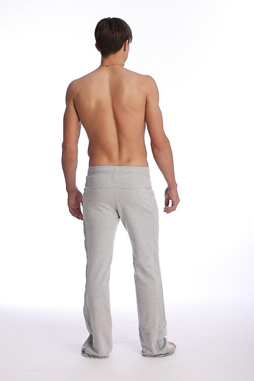 Yoga Track Pants for men  (Solid Heather Grey).jpg