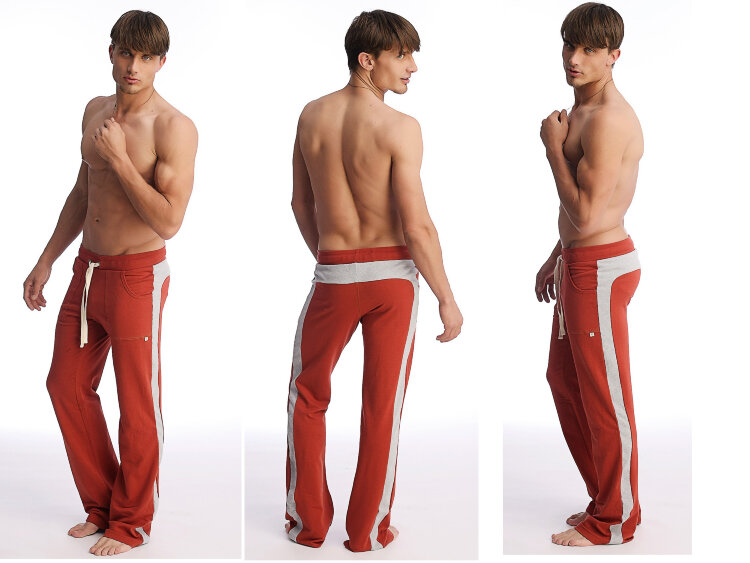 Yoga Pants for men (Cinnabar Grey).jpg
