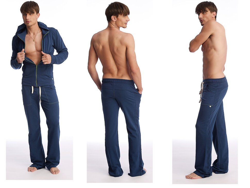 breathable s eco track pant solid royal