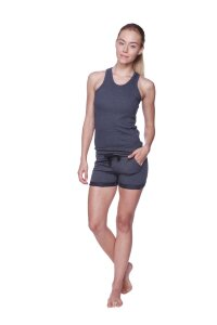 Women's All-American Racerback Tank Top (Charcoal)