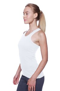 Women's All-American Racerback Tank Top (White)