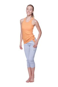 Women's All-American Racerback Tank Top (Sun Orange)