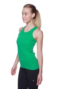 Women's All-American Racerback Tank Top (Bamboo Green)