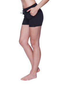 Women's Performance Yoga Short (Solid Black)