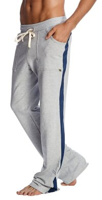 Eco-Track Pant (Heather Grey w/Blue)