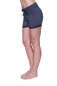 Women's Performance Yoga Short (Solid Charcoal)