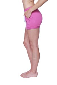Women's Performance Yoga Short (Solid Berry)