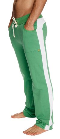 Eco-Track Pant (Bamboo Green w/White)