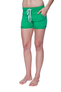 Women's Performance Yoga Short (Solid Bamboo Green)