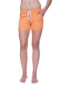 Women's Performance Yoga Short (Solid Sun Orange)