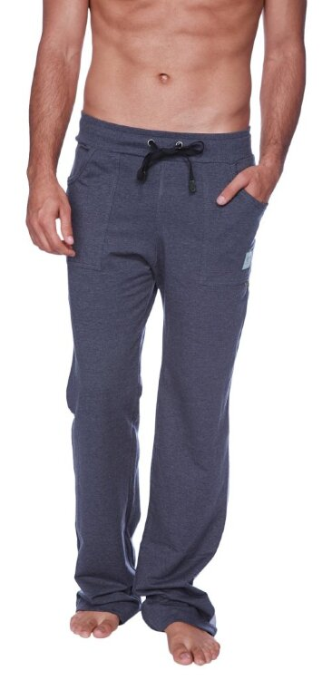 Eco-Track Pant (Charcoal w/Grey) - front view