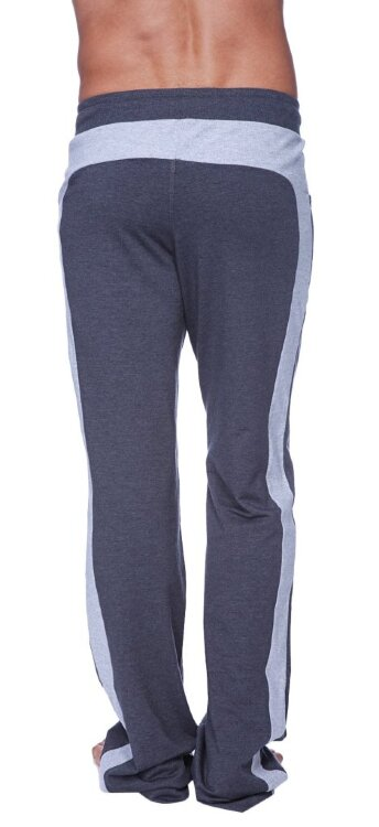 Eco-Track Pant (Charcoal w/Grey) - back view