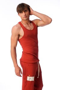 Sustain Tank Top for Yoga (Cinnabar)