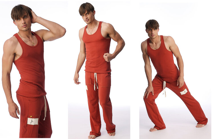 Sustain Yoga Tank for men (Cinnabar).jpg