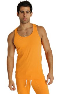 Sustain Tank Top for Yoga (Sun Orange)