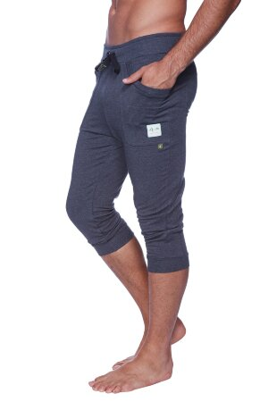 Cuffed Yoga Pants for men (Solid Charcoal)