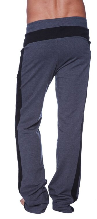 Eco-Track Pant (Charcoal w/Black) - back view