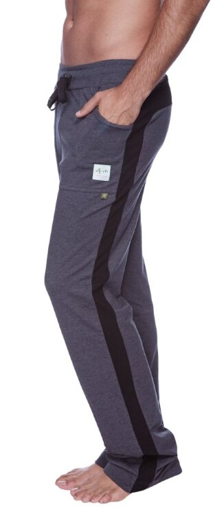 Eco-Track Pant (Charcoal w/Black) - side view