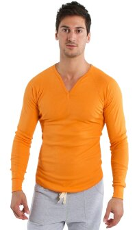 Thermal V-neck Long Sleeve (Sun Orange)