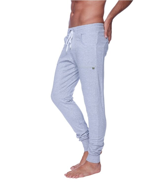 Earth Yoga Sweatpants Long Length (Heather Grey)