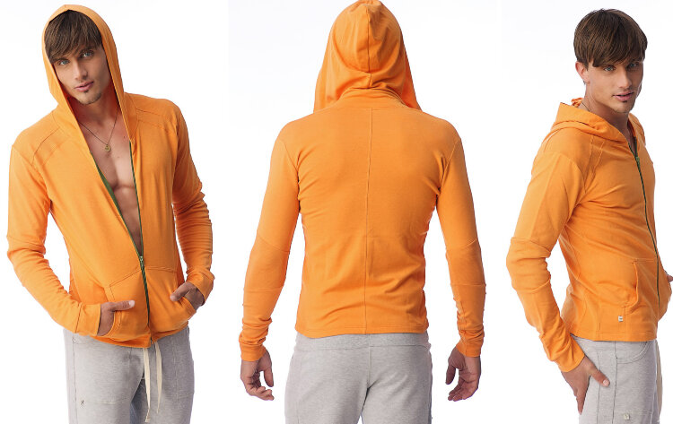 Organic Yoga Hoodie for men (Sun Orange)ig.jpg