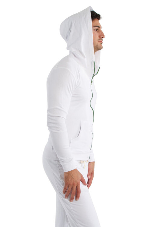 Crossover Hoody for Men (White)