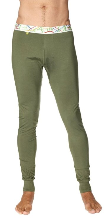 Crosstrain Thermal Yoga Pant (Rainforest Green) - front view