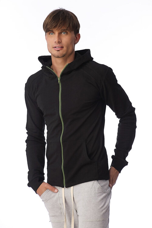 Crossover Yoga Hoodie for men (Black)4t.jpg