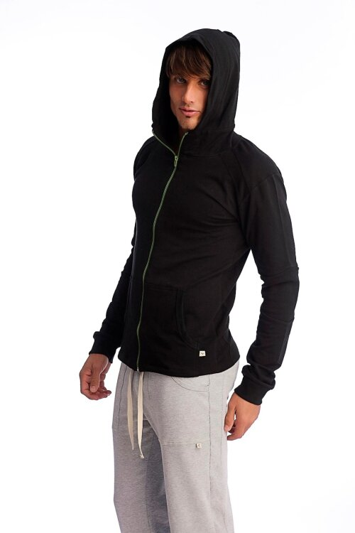 Crossover Yoga Hoodies for men (Black)_0.1.jpg