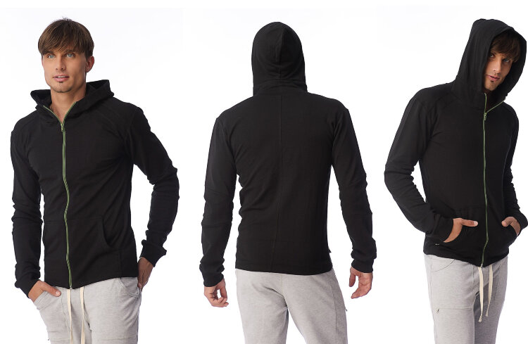 Crossover Yoga Hoodie for men (Black)_1.jpg