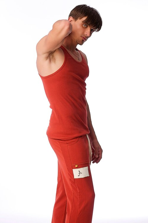Mens Cinnabar Sustain Tank Top for Yoga_0.1.jpg