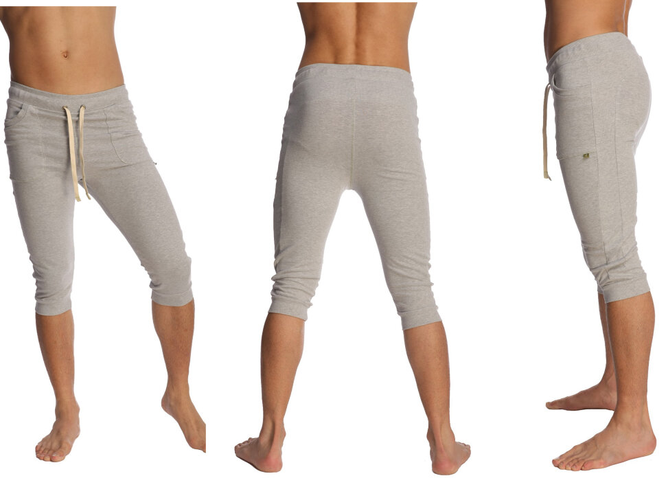 Buy online the Cuffed Yoga Pants for men (Heather Grey) in e-shop ...
