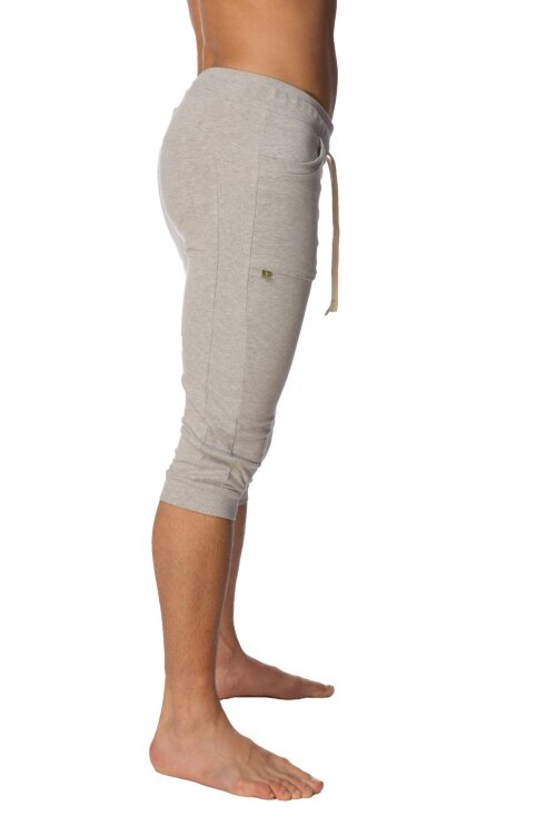 The best Cuffed Yoga Pants for men  (Heather Grey)_3.1.jpg