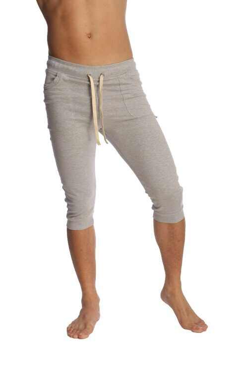 The best Cuffed Yoga Pants for men  (Heather Grey)_2.1.jpg