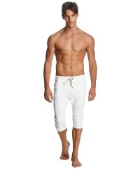 Men's Capri Yoga Joggers (White)