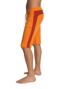Eco-Track Shorts (Orange w/Cinnabar)