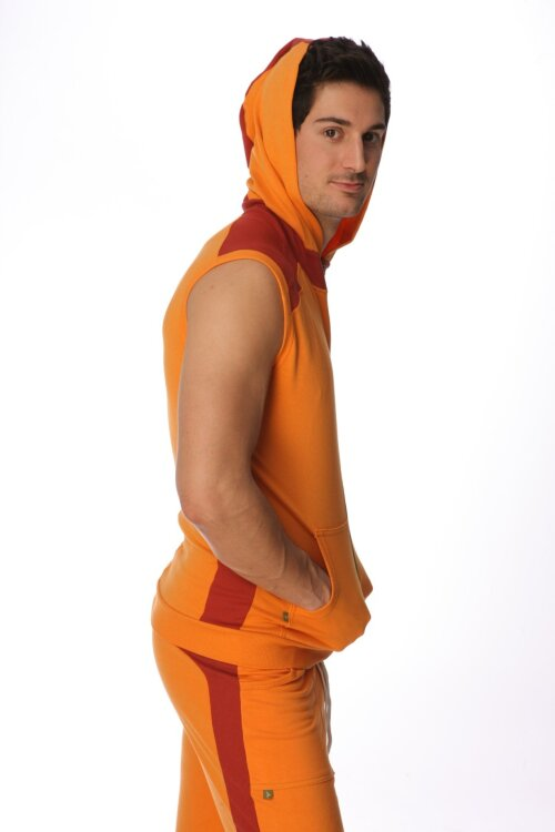 Sleeveless Yoga Hoodies for men (Sun Orange)_0.1.jpg