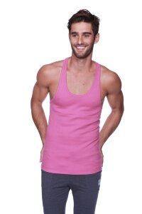 Racer-back Yoga Tank (Berry)
