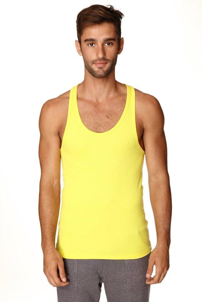 76e13ab9410d Fashionable Men s Racerback Yoga Tank Top (Tropic Yellow) buy online ...