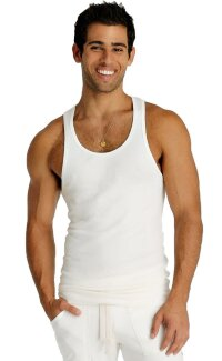 Sustain Tank Top for Yoga (White)