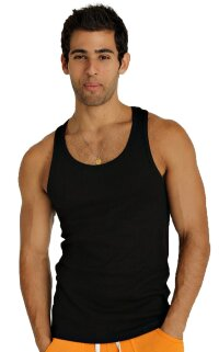 Sustain Tank Top for Yoga (Black)